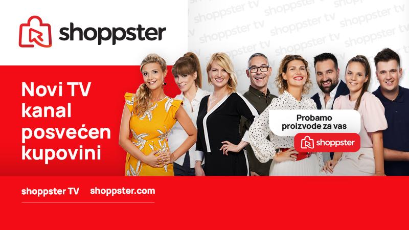 Shoppster TV krenuo sa emitovanjem!